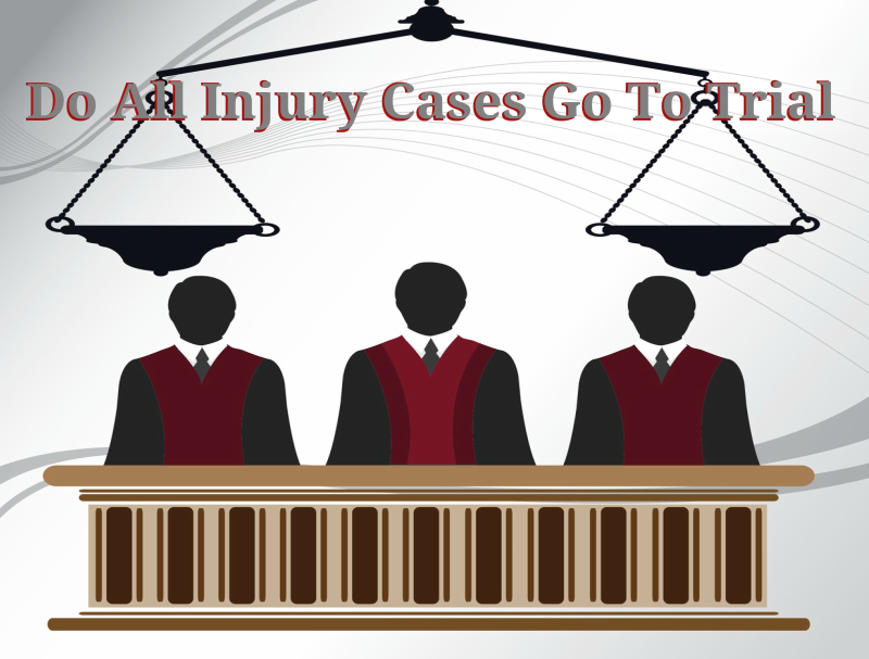 Do Personal Injury Cases Go To Trial?