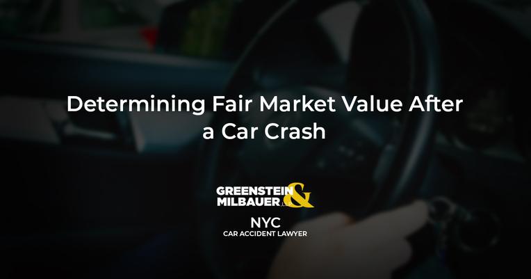 Determining Fair Market Value After A Car Crash