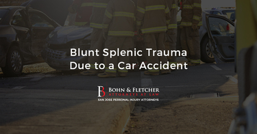 Blunt Splenic Trauma Due to a Car Accident