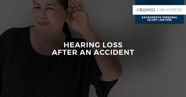 Hearing Loss After an Accident