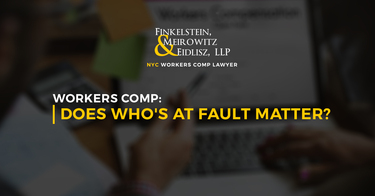 Workers Comp: Does Who's at Fault Matter?