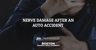 Nerve Damage After an Auto Accident
