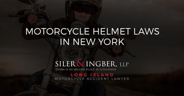 Motorcycle Helmet Laws in New York