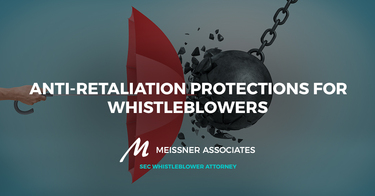 Anti-Retaliation Protections for Whistleblowers