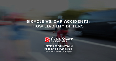 Bicycle vs. Car Accidents: How Liability Differs